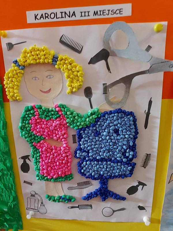 Konkurs plastyczny ''Kim zostanę, gdy dorosnę'' - zdjęcie 15