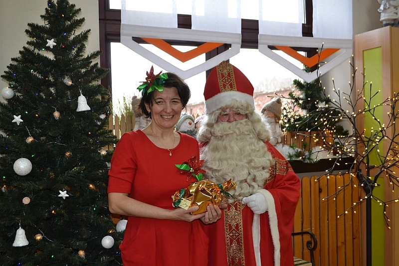 Święty Mikołaj w Przedszkolu - zdjęcie 30