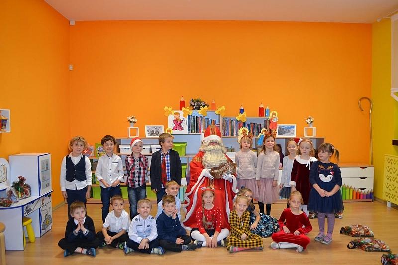 Święty Mikołaj w Przedszkolu - zdjęcie 27
