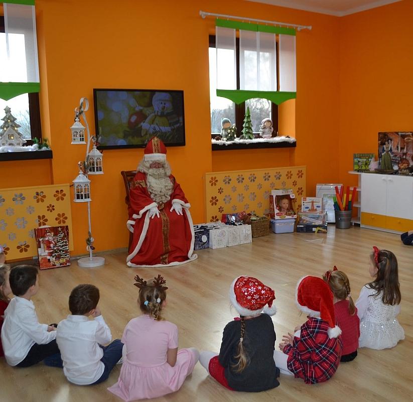 Święty Mikołaj w Przedszkolu - zdjęcie 23