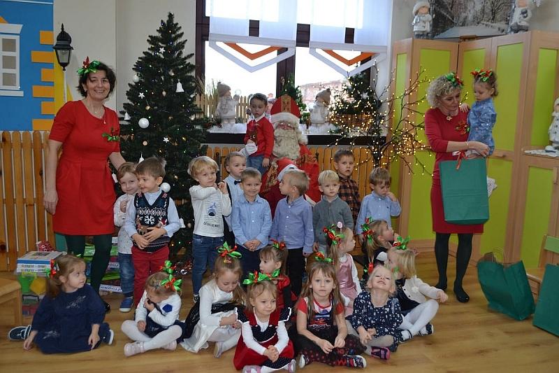 Święty Mikołaj w Przedszkolu - zdjęcie 21