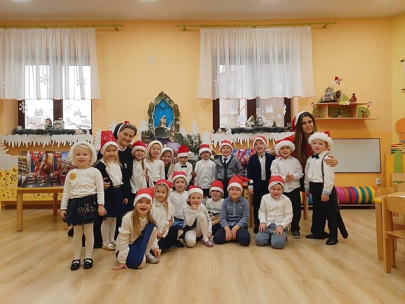 Święty Mikołaj w Przedszkolu - zdjęcie 15