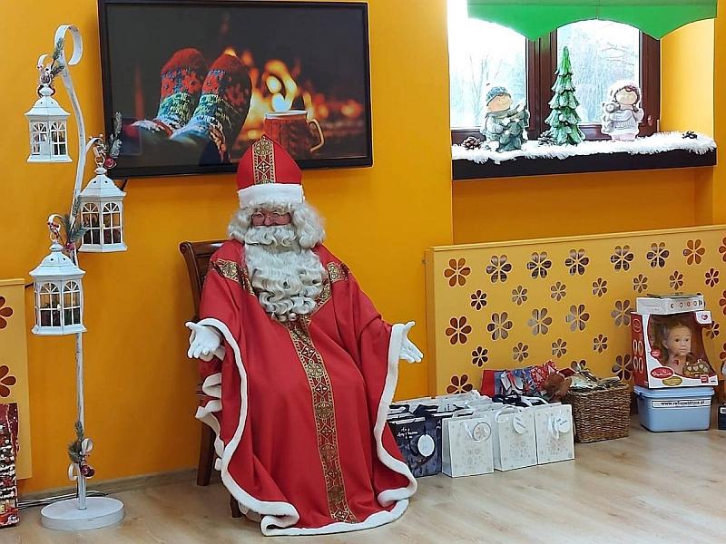 Święty Mikołaj w Przedszkolu - zdjęcie 10