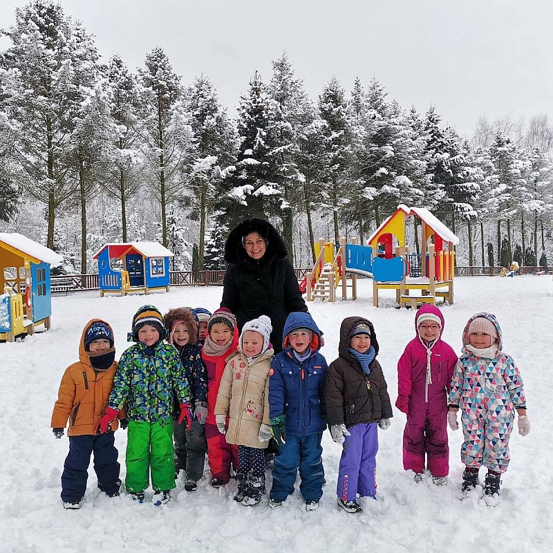 Zabawy na śniegu - zdjęcie 1