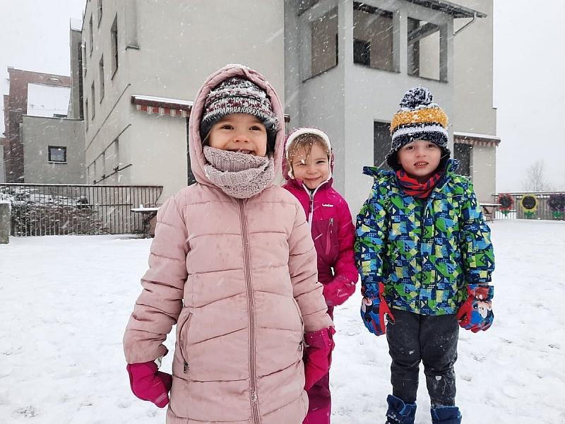 Zabawy na śniegu - zdjęcie 13