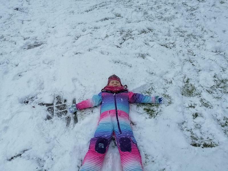 Zabawy na śniegu - zdjęcie 2