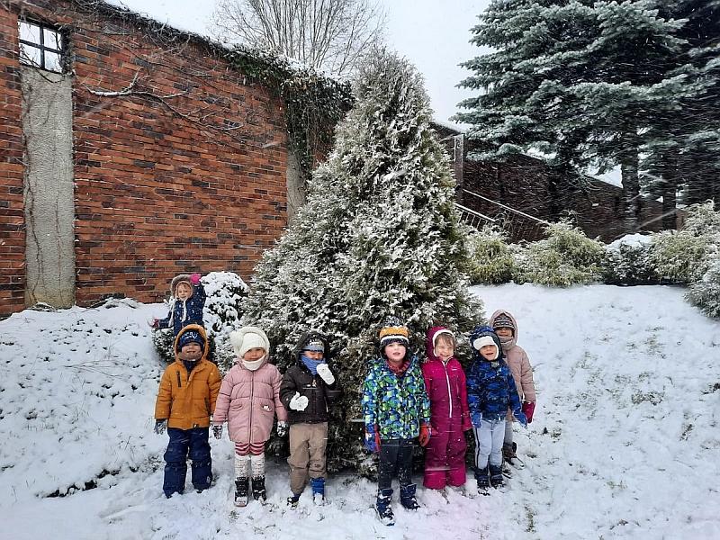 Zabawy na śniegu - zdjęcie 19