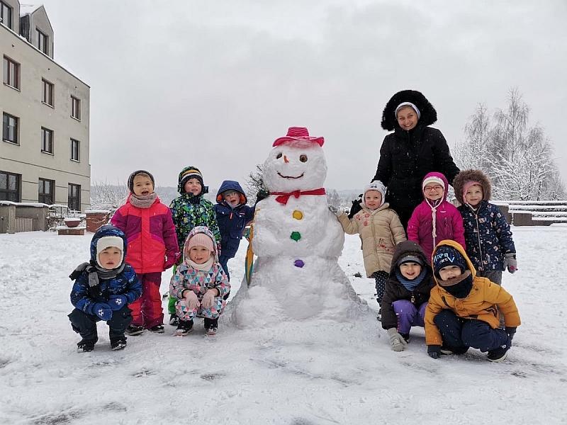 Zabawy na śniegu - zdjęcie 20