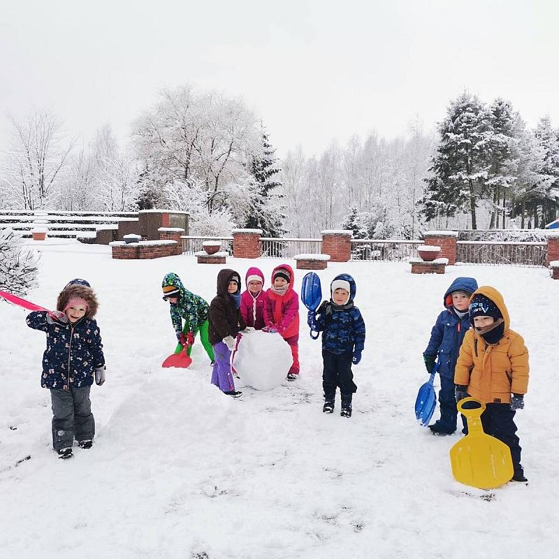 Zabawy na śniegu - zdjęcie 22