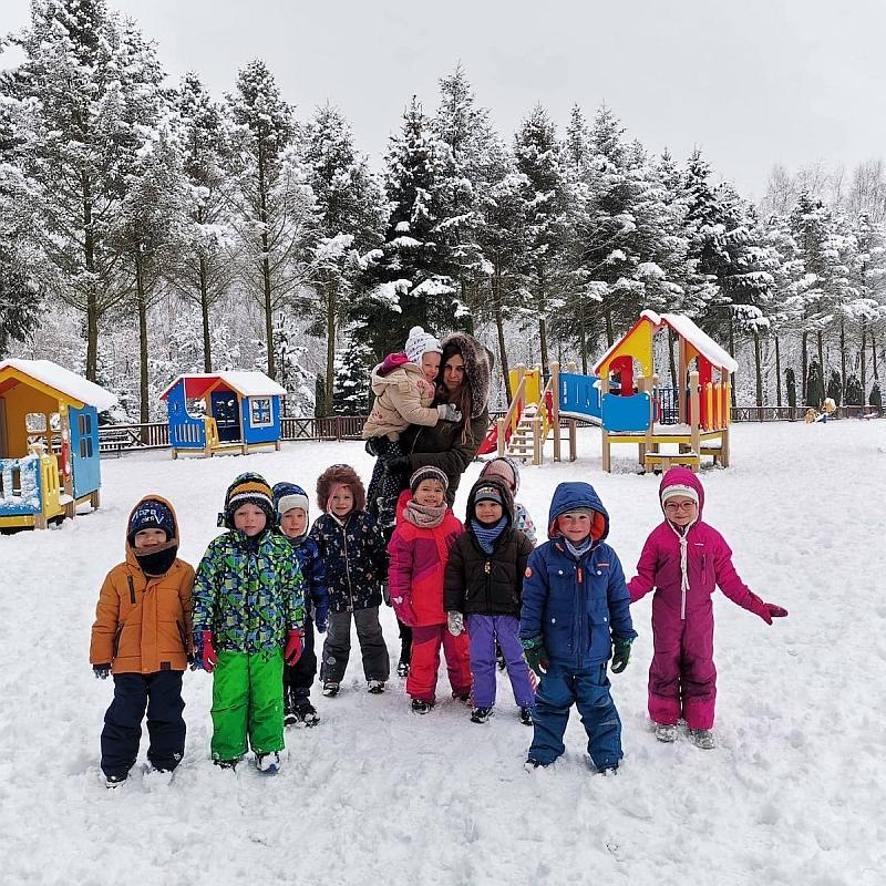 Zabawy na śniegu - zdjęcie 25