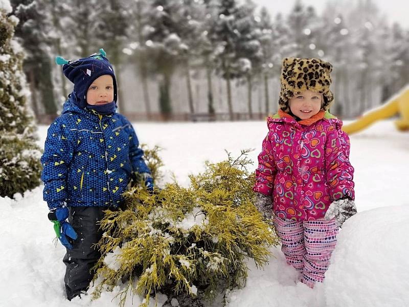 Zabawy na śniegu - zdjęcie 26