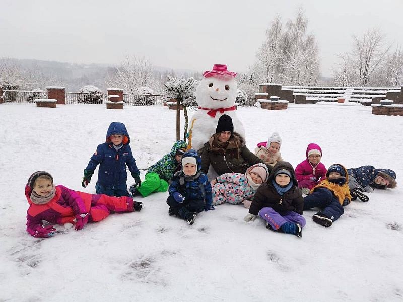 Zabawy na śniegu - zdjęcie 3