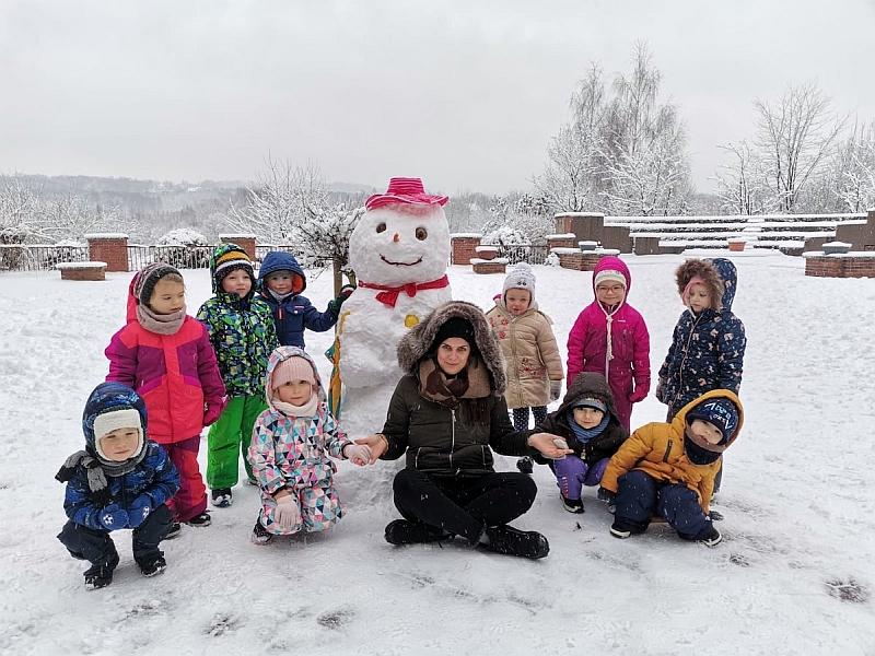 Zabawy na śniegu - zdjęcie 5