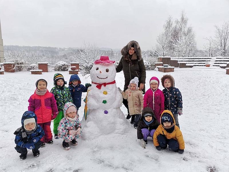 Zabawy na śniegu - zdjęcie 6