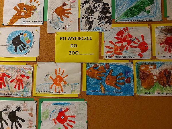 Plastyczna galeria 4 latków