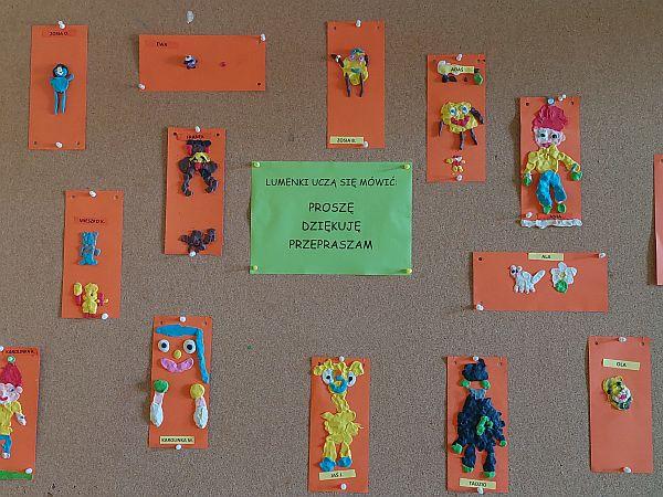 Plastyczna galeria 6 latków